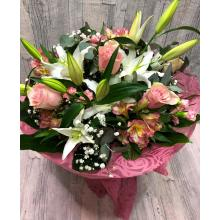 Bouquet white-pink