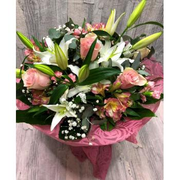 Bouquet white-pink