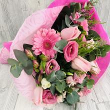 Bouquet pink dark pink