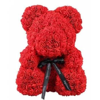 Red Rose Bear extra  large XXL