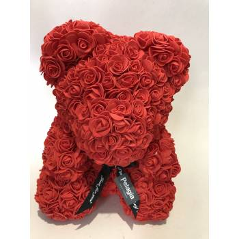Red Rose Bear large